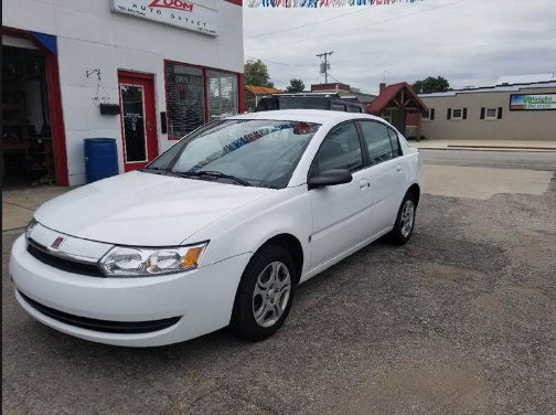 2003 Saturn Ion Owners Manual