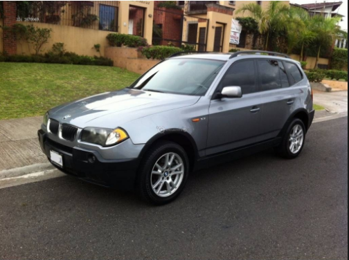 2005 BMW X3 Owners Manual