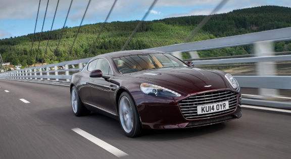 2015 Aston Martin Rapide Owners Manual
