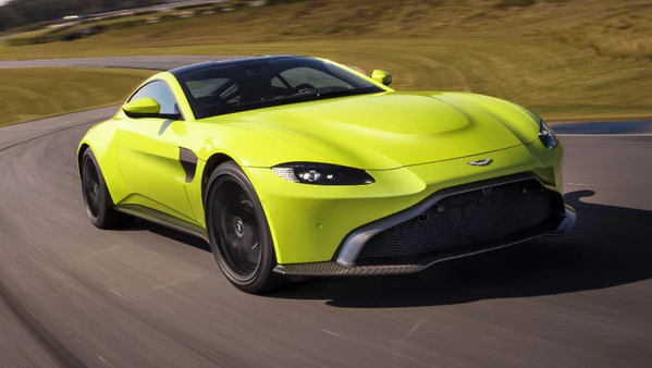 2018 Aston Martin Vantage Owners Manual