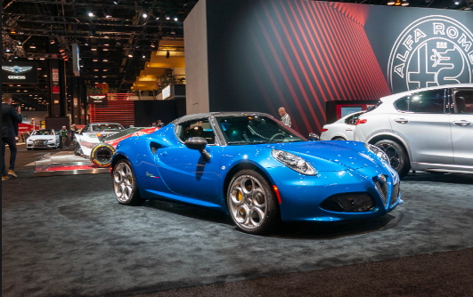 2020 Alfa Romeo 4C Owners Manual